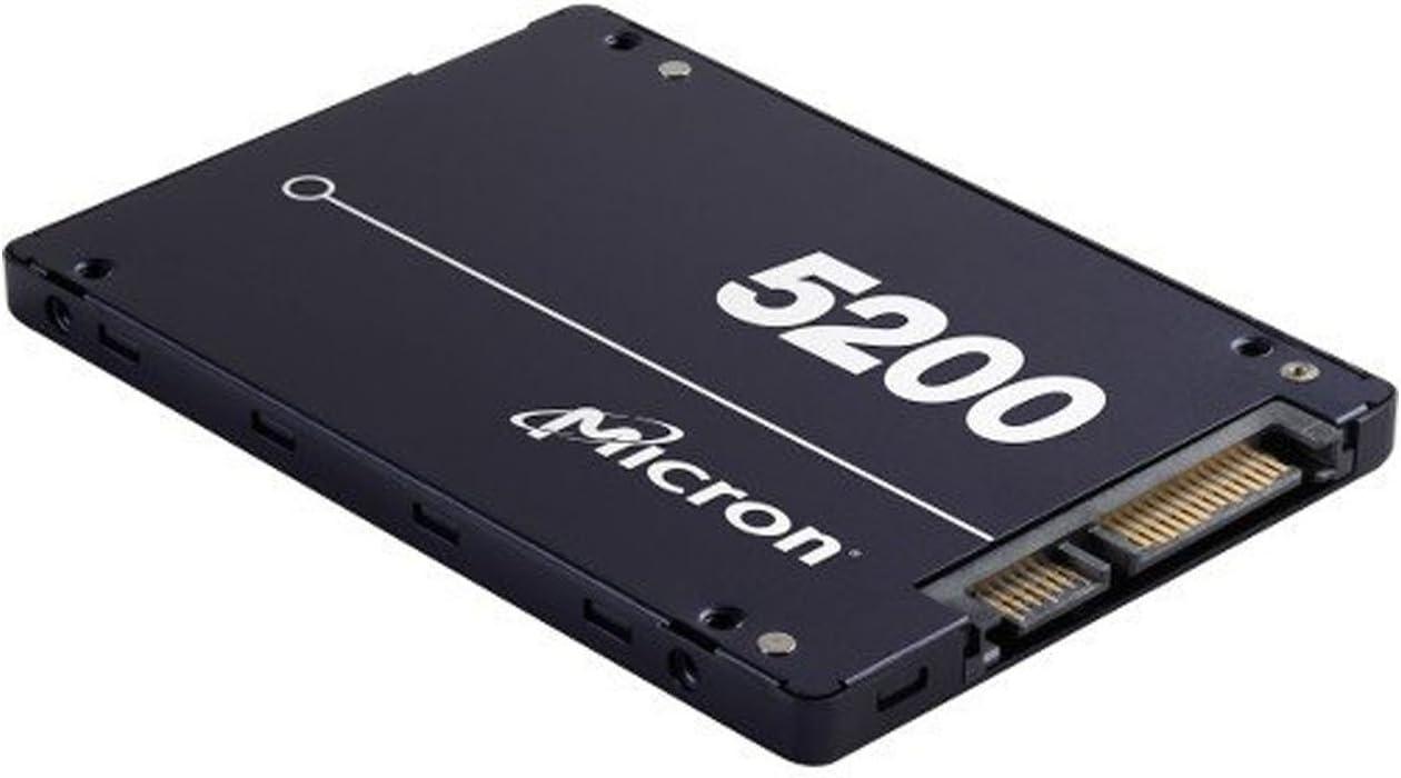 "Micron 5200 PRO 960GB 3D NAND 2.5/"" SATA Internal Solid State Drive"