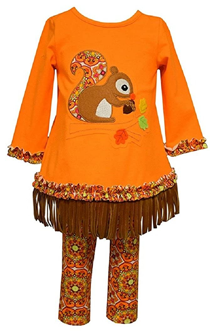 新作人気 Bonnie Jean Girls Fall オレンジ Harvest B01MAW8TG5 Squirrelレギンスセット( 2t-6 X Harvest ) XS オレンジ B01MAW8TG5, 上牧町:9c77edcb --- a0267596.xsph.ru