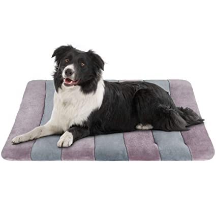 6187d8270e22 JoicyCo Dog Beds for Medium Dogs Crate Pad 36 Washable Anti-Slip Pet Beds  Matress