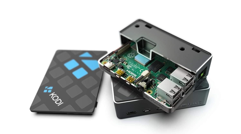 Kodi Edition Flirc Raspberry Pi 4 Case