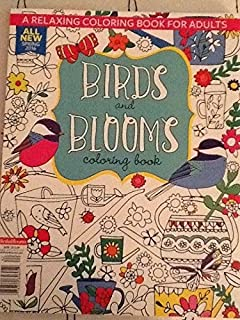 Birds And Bloom Coloring Book 2016 2