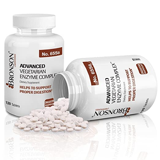 Amazon.com: Bronson Advanced Vegetariana Enzyme Complex ...