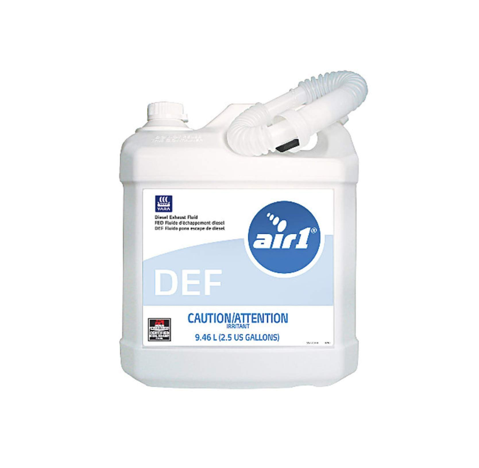 Air 1 Diesel Exhaust Fluid 96 Each x 2.5 Gallon Jugs by Silver Transfer STS-25NA2 (Lift GATE DEL)