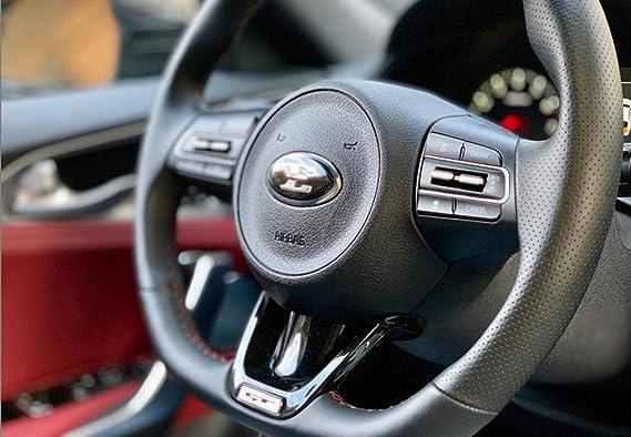 Amazon.com: 3D E Steering Wheel Horn Cap Emblem Nameplate Badge (Fits: KIA 2018+ Stinger): Automotive