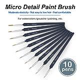 Holotap Detail Paint Brush Set, 10 Sizes