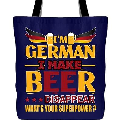 Amazon.com: Siendo una bolsa de lona alemana, soy una bolsa ...