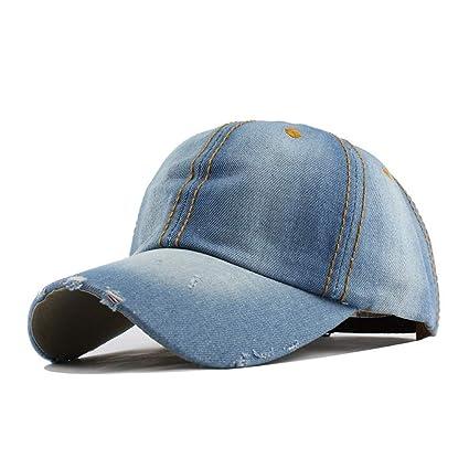 SKAMAO Gorra De Beisbol Gorra De Béisbol Vaquera Unisex Caer Sombreros Sanpback Casuales para Hombres Y