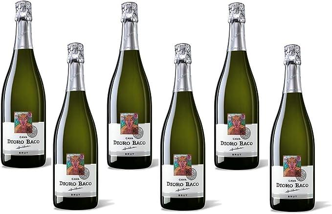 Cava Dioro Baco Reserva Brut, caja de 6 botellas: Amazon.es: Alimentación y bebidas