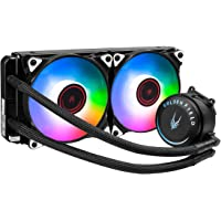 GOLDEN FIELD SF240 RGB All-in-One Liquid CPU Cooler With 240mm Radiator Water Cooling Cooler System For Intel AMD Socket…
