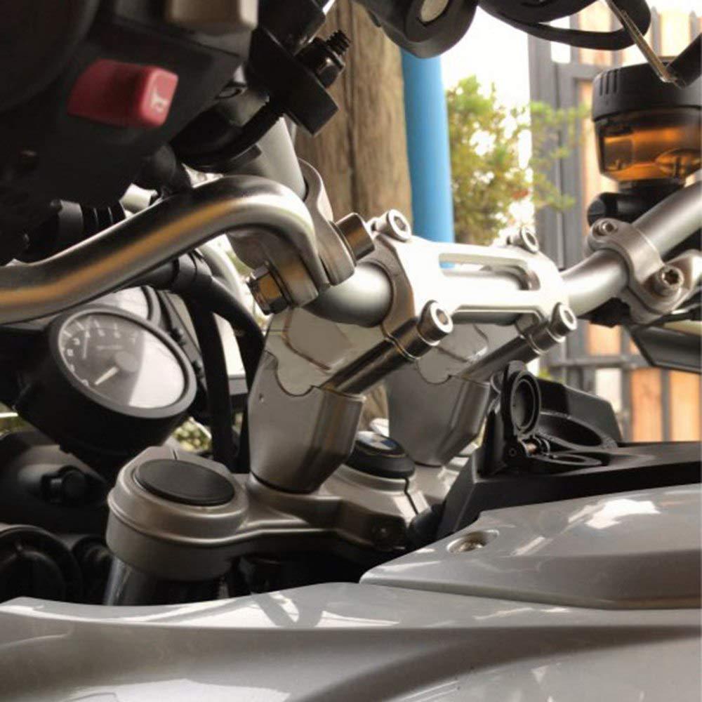 R1200GS ADV 2014-2017 erh/öht 33 mm JFG RACING Motorrad-Lenkererh/öhung Lenkererh/öhungen Klemme Verl/ängerung Adapter f/ür BMW R1200GS LC 2013-2017