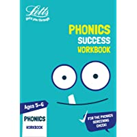 Letts KS1 Revision Success - New Curriculum – Phonics Ages 5-6 Practice Workbook