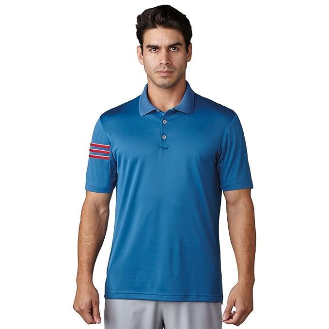 adidas para Hombre de Golf Climacool 3 Stripe Club Polo: Amazon.es ...