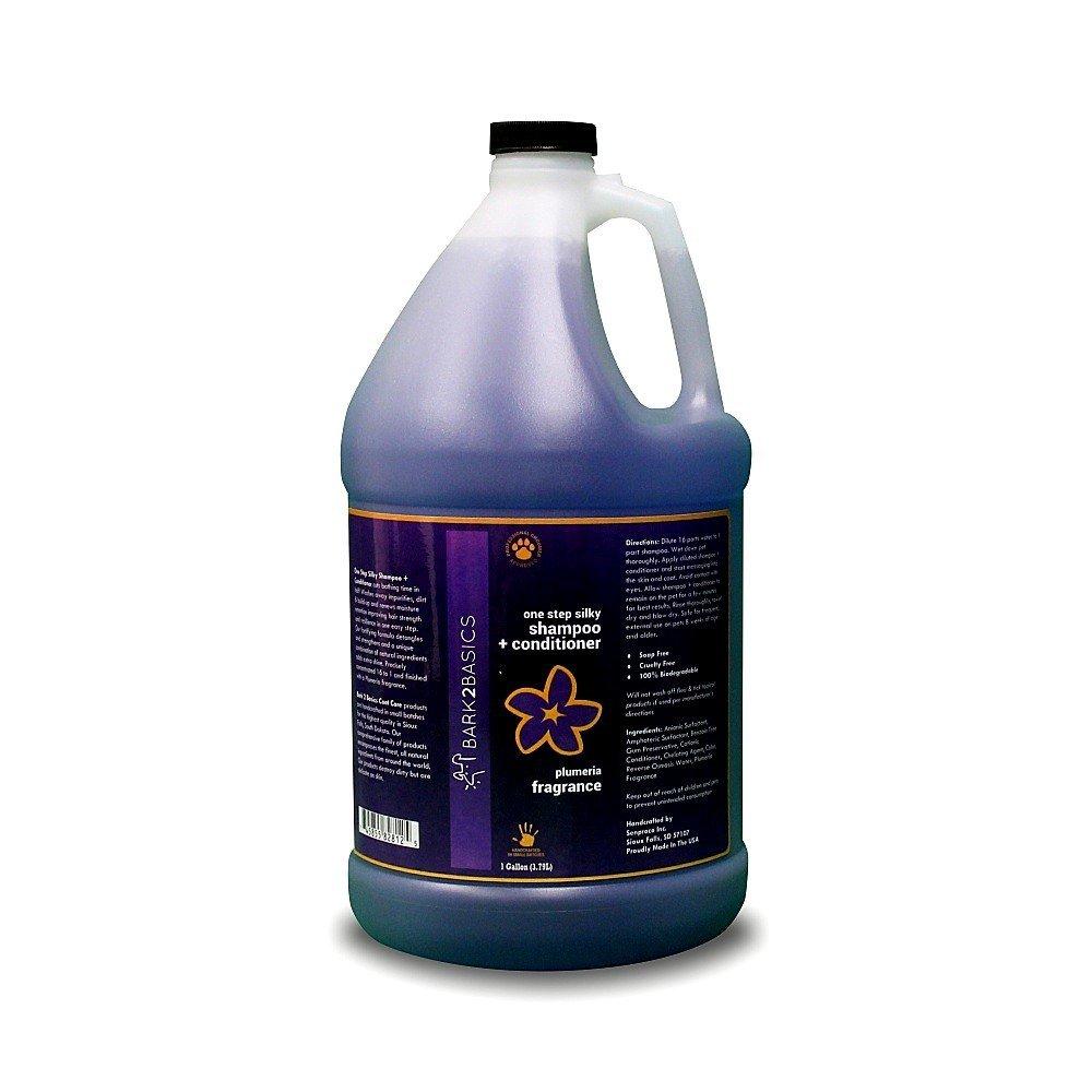 Bark 2 Basics One Step Silky Shampoo Plus Conditioner, 1 gallon by Bark 2 Basics (Image #1)