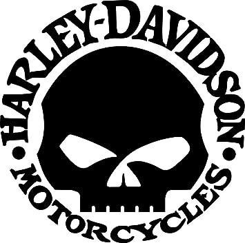 Motorcycle Harley Davidson Willie G Sticker HD Vinyl Decal Car Truck Window