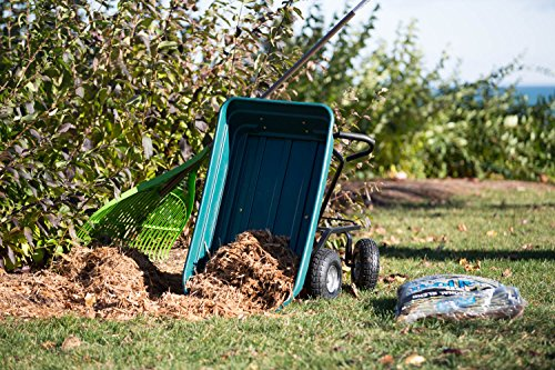 Precision LC2000 Capacity Mighty Garden Yard Cart, 600-Pound by Unknown (Image #5)