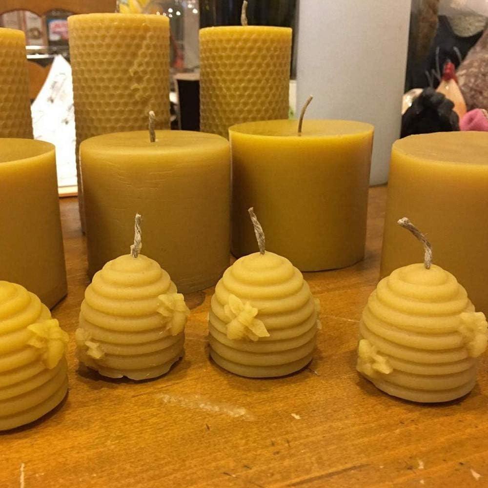 Lhbfcy 3D Silikonkerzenform Kerzenform Silikonform F/ür Bienenenwachs Kerzenherstellung Silikonform Kerzenform Gie/ßen Silikon Stumpenkerze Weihnachten F/ür Die Herstellung Kerzen,Aromasteinen,Schokolade