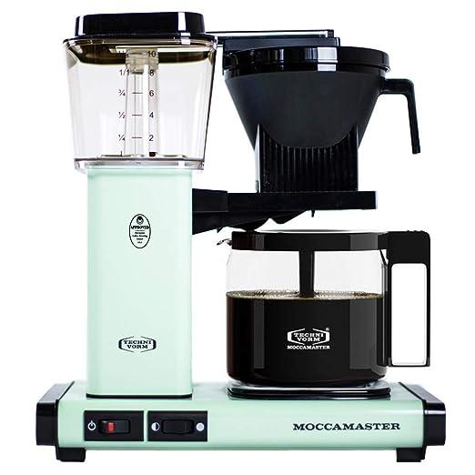 Moccamaster KBG 741 AO verde pastel - Cafetera 10 tazas - 1,25l ...