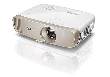 BenQ W2000 Proyector inalámbrico (1080P Full HD, DLP, 2000 lúmenes, relación de alto contraste 15000: 1, bocina de 20 vatios, 3D, serie CinePrime), ...