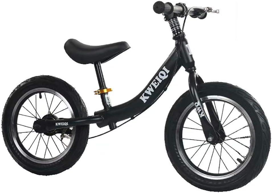 Bicicleta de equilibrio para niños sin pedales Bicicleta de 14 pulgadas Coche de carreras de velocidad deslizante para bebés de 3 a 6 años