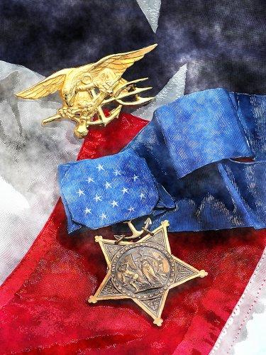 navy seal medal - 1