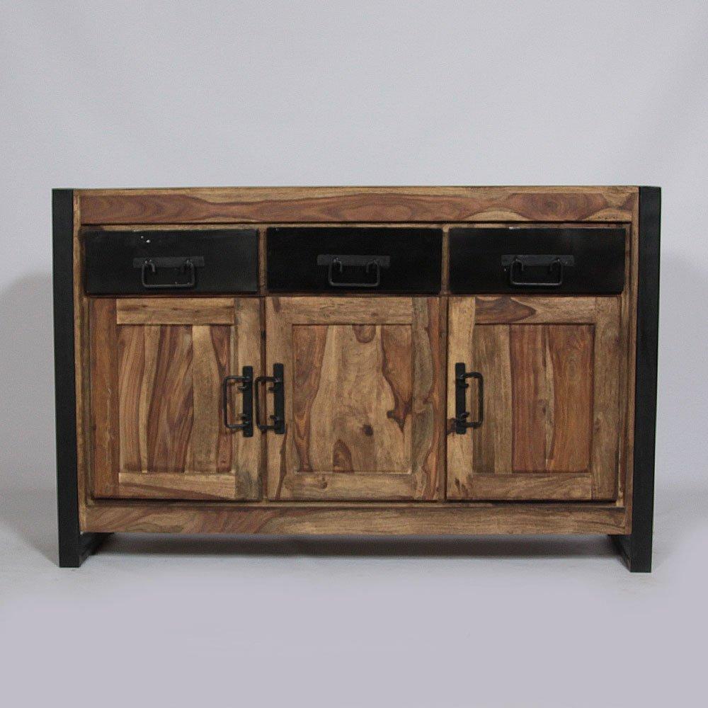 Möbel enfilade vintage-Metal schwarz
