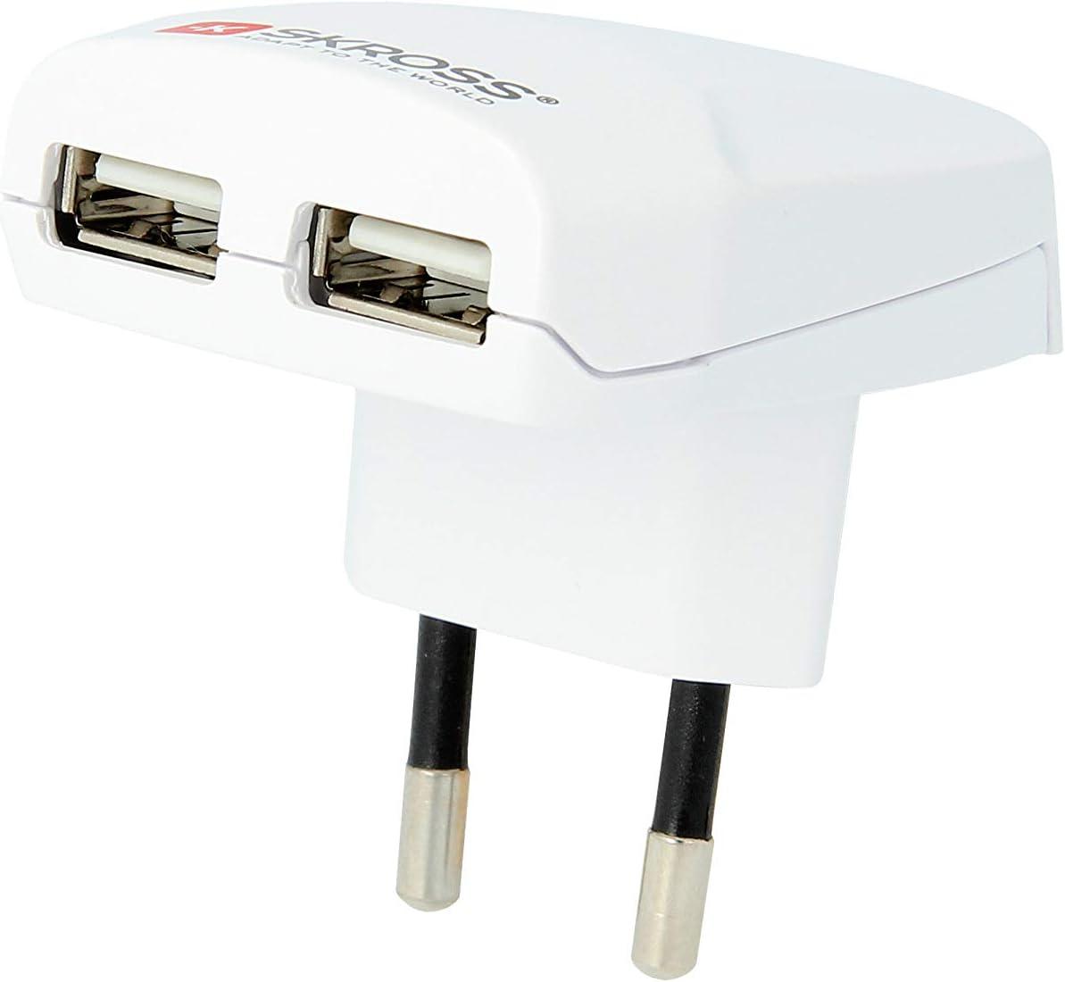 USB Ladeger/ät Weiss OneSize SKROSS Euro