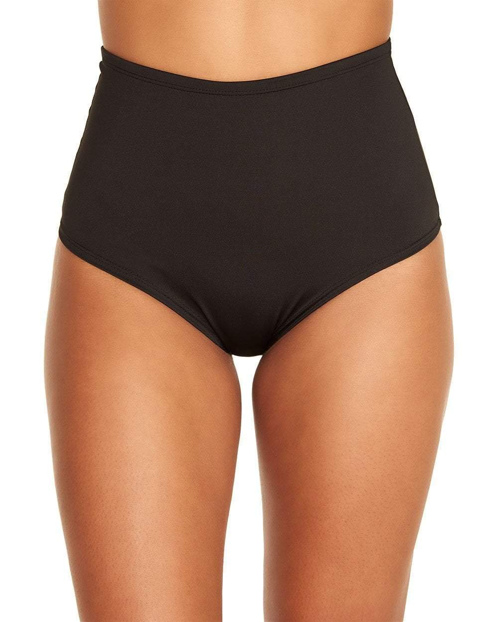 iHeartRaves Black Electro 2.0 High Waisted Booty Shorts (Small/Medium)