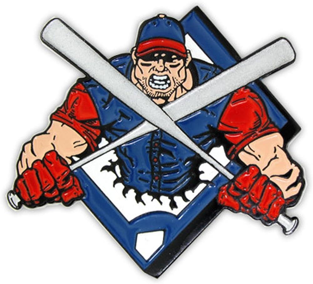 PinMart Baseball Crossed...