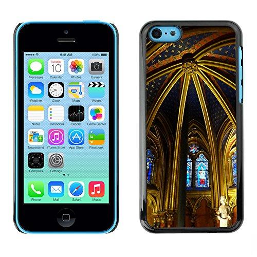 Premio Sottile Slim Cassa Custodia Case Cover Shell // F00005959 La Sainte Chapelle // Apple iPhone 5C