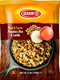 Osem Heat & Serve, Mejadara-Rice & Lentils, 5.3 Ounce (Pack of 12)