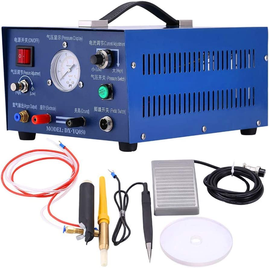 NEW 80A 400W Pulse Spot Welder Argon protection Welding Jewelry ONLY 220V