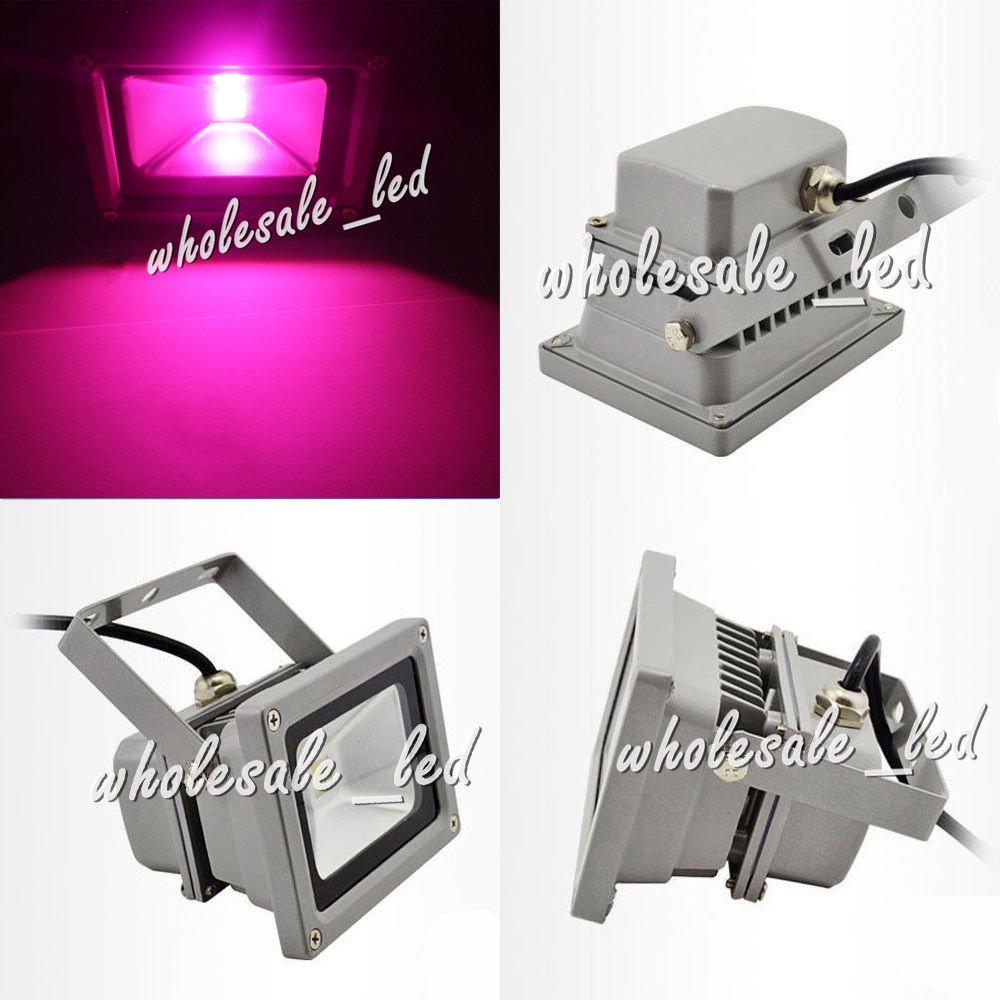 led world 10W grow light LED Floodlight 380-840nm,full spectrum led grow light 12-24V