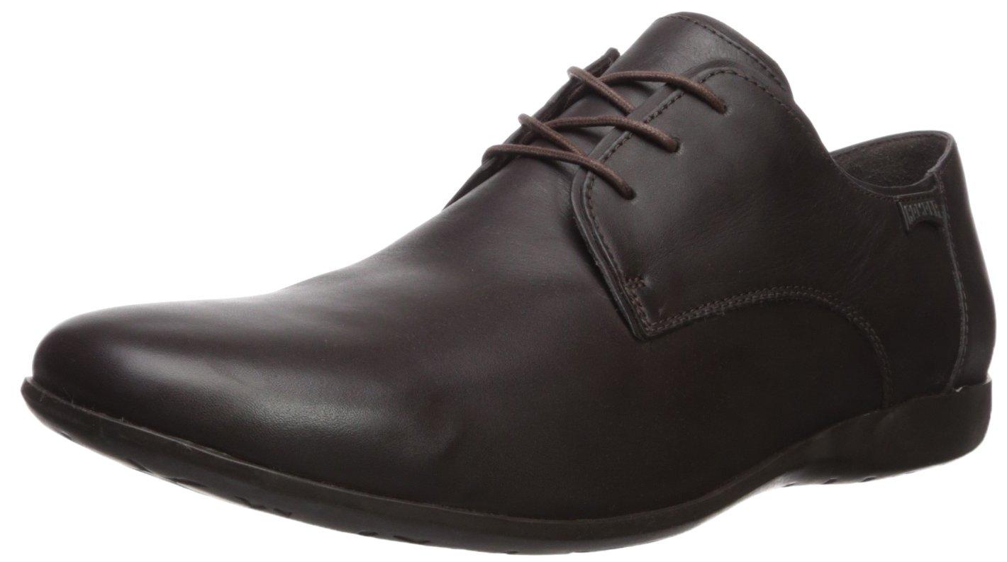 Camper Mauro, Zapatos de Cordones Brogue para Hombre 44 EU Marrón (Dark Brown 018)