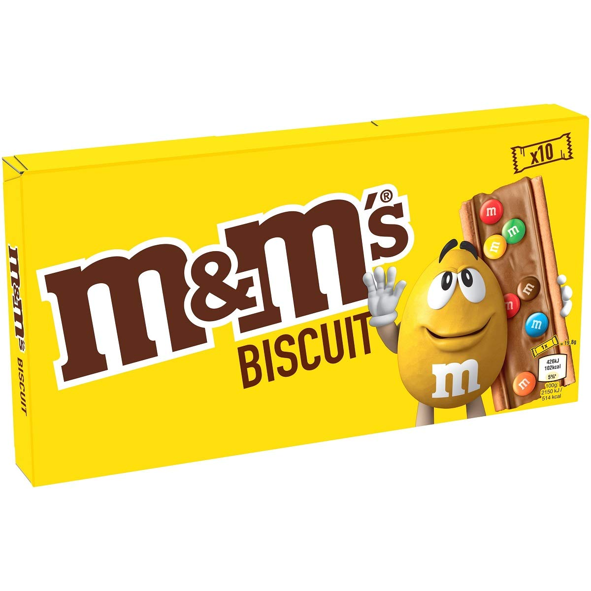 Amazon Com M M S Cookie Chocolate Snack Bars 198gr 6 98oz X 3 Boxes 3 Boxes Pack Grocery Gourmet Food