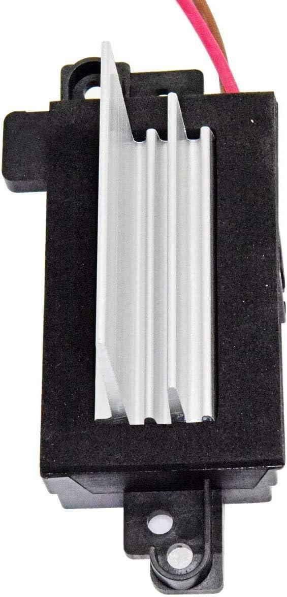 Sierra Yukon ,Silverado,Tahoe,Suburban AC blower motor resistor Module Upgraded Design Heating and Air Conditioning Blower Resistor 4P1516 for Buick Rainier Cadillac Escalade GMC Envoy