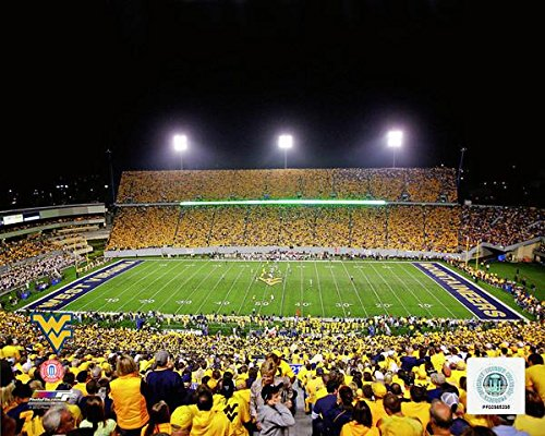 "University of West Virginia Milan Puskar Stadium 8"" x 10"" College Football Photo"