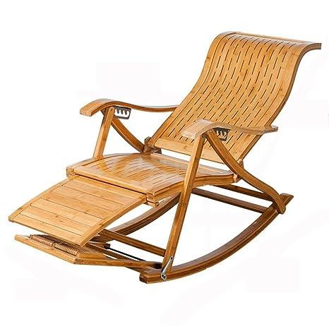 Feifei Lazy Chair de Madera Maciza cómoda Sala de Estar ...