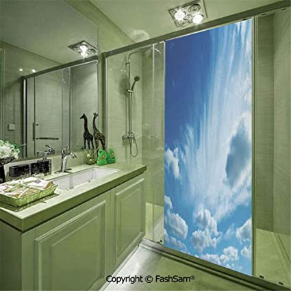 privacy decorative glass the window people.htm amazon com putien 22102d privacy glass film sky with floating  amazon com putien 22102d privacy glass