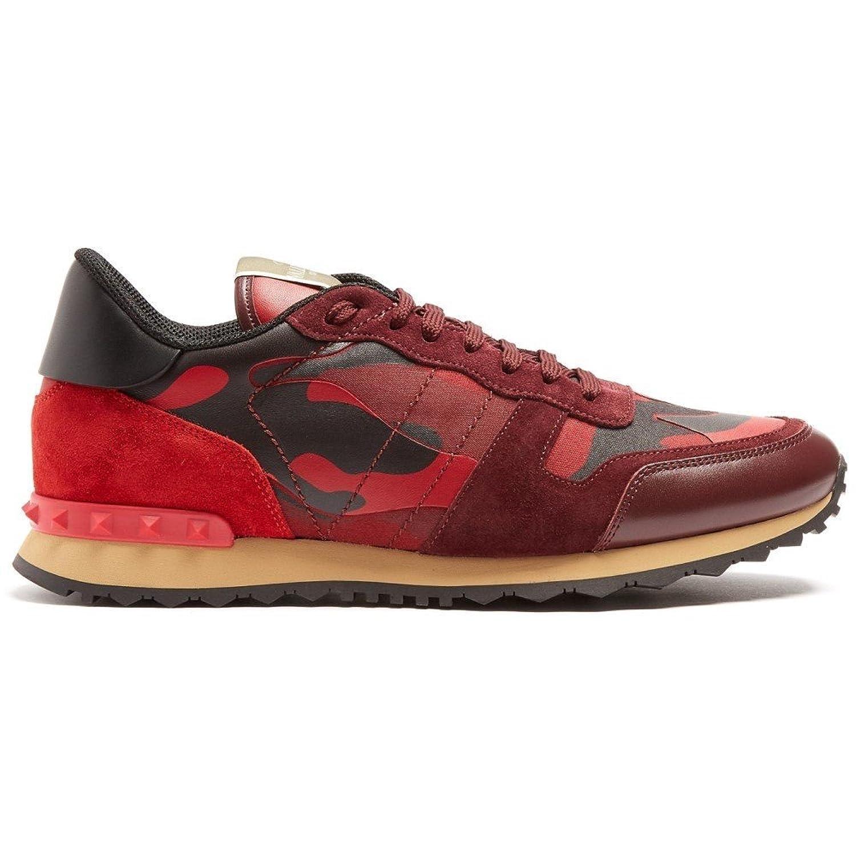 (ヴァレンティノ) Valentino メンズ シューズ靴 スニーカー Rockrunner camouflage-print trainers [並行輸入品] B079GN375D