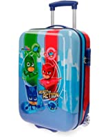 PJ MASKS Ready For Action - Rigid Trolley with Two Wheels - Multicolor - 19.7 inches