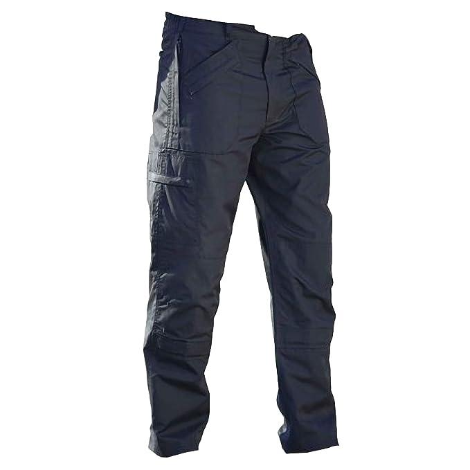 a84f928631ef Regatta - Pantalones de trekking Modelo New Lined Action hombre caballero  (Longitud pierna Regular)  Amazon.es  Ropa y accesorios