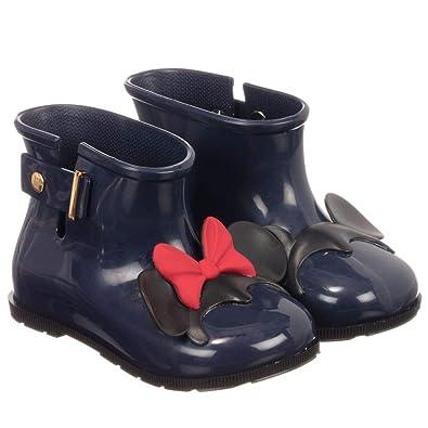 c3f375379d6d Mini Melissa Girls Disney RAIN Boots - Navy  Amazon.co.uk  Shoes   Bags