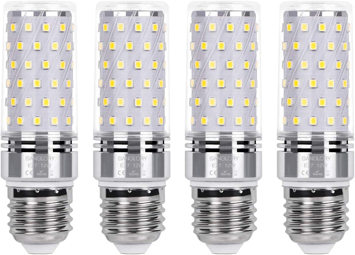 SanGlory E27 LED Mais Glühbirnen 12W - Energiesparlampen