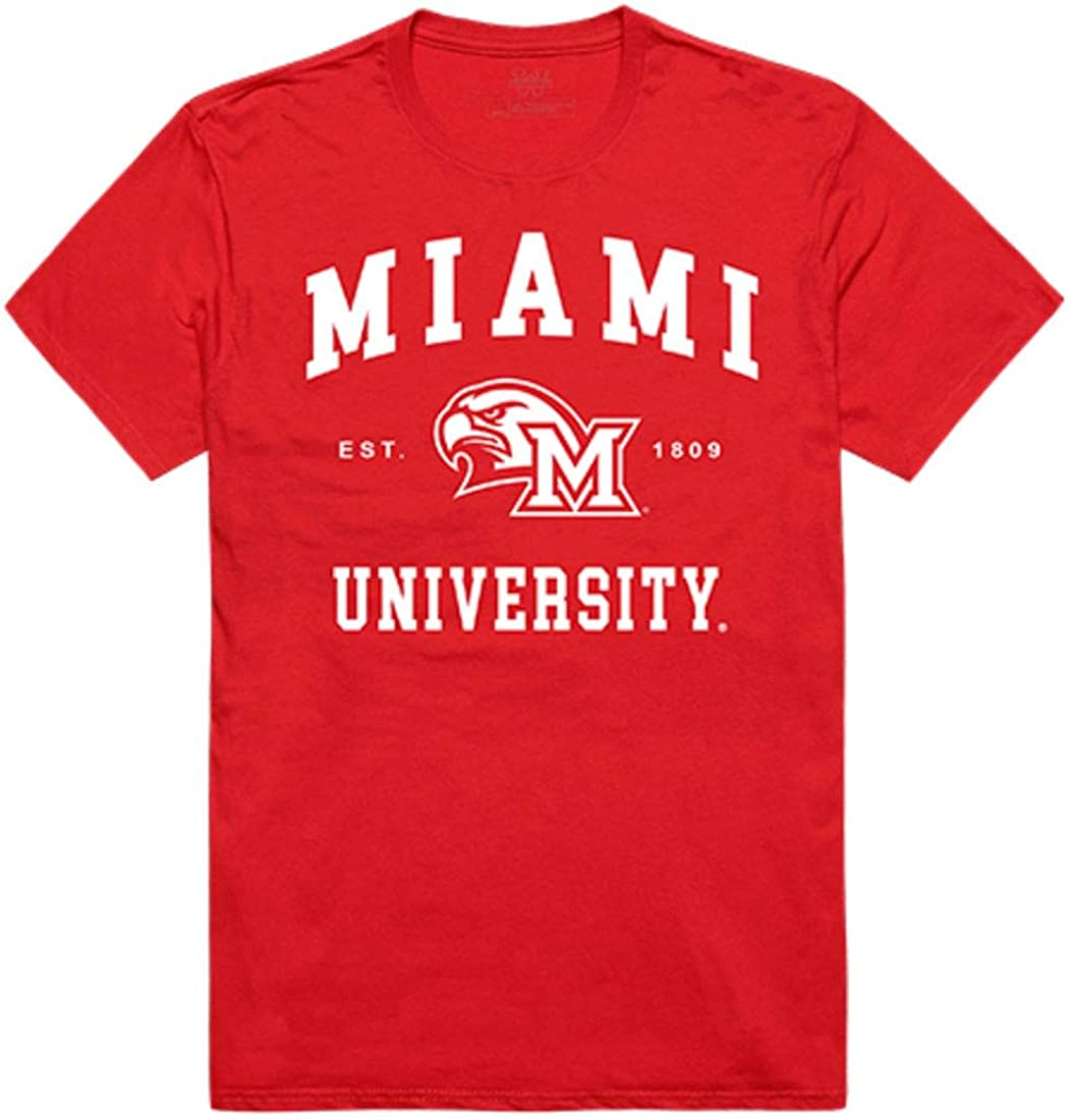 NCAA Miami University RedHawks T-Shirt V1