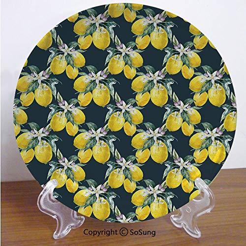 Lemon Tree Plate Salad - Floral 6