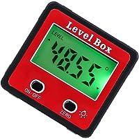 Wallfire Inclinómetro Digital de 2 Teclas Nivel Caja
