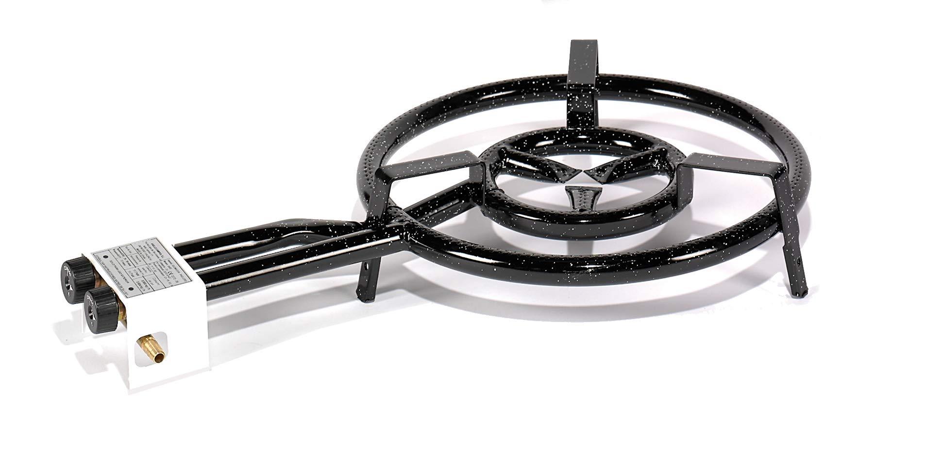 Castevia Paella Gas Burner Two Rings 16Inch - 400 mm