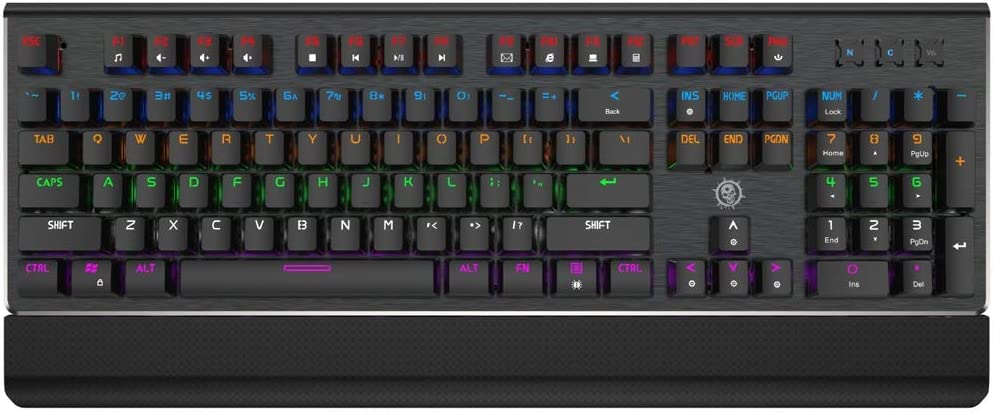 Desktop Computer Game Esports Wired Backlight USB Keyboard ZHONGYUE Keyboard Style : E Notebook External Keyboard Mechanical Feel