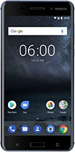 Nokia 6 - 32 GB - Dual Sim Unlocked Smartphone (AT&T/T-Mobile/Metropcs/Cricket/Mint)