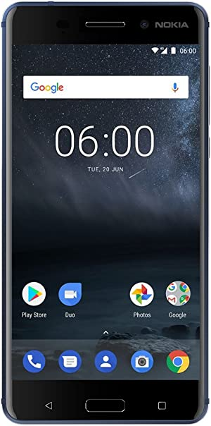 Nokia 6 - 32 GB - Dual Sim Unlocked Smartphone (AT&T/T-Mobile/Metropcs/Cricket/Mint) - Update To Android 9.0 Pie - 5.5